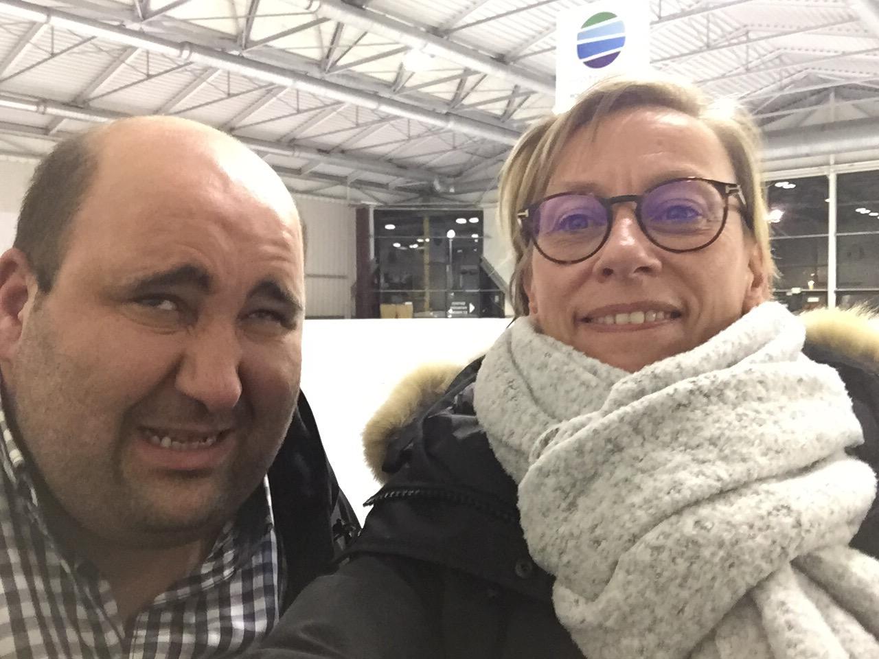 Tufek et Sandrine Devaux